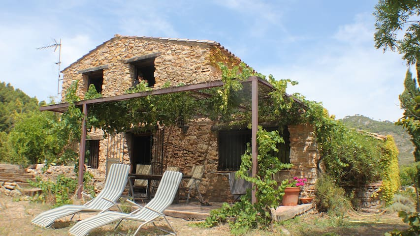 Comfortable Cottage in cat. village, pool access - Masboquera