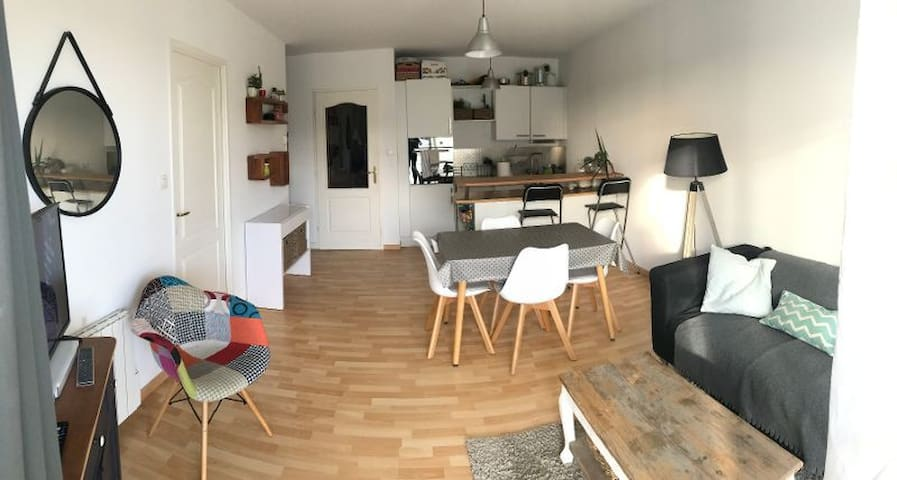 Appartement récent à 2 min de la plage