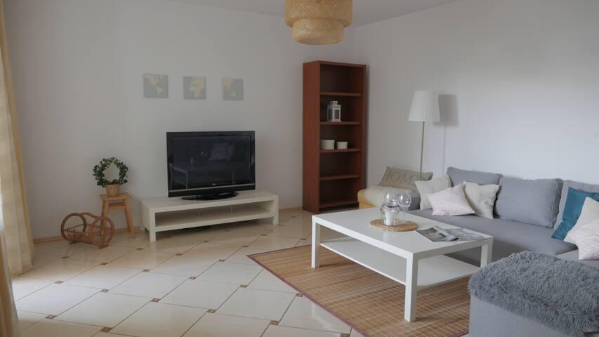 Big apartment in Warsaw