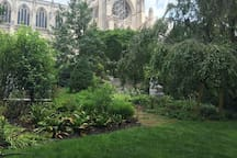 The National Cathedral's Bishop's Garden