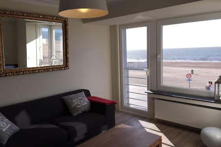 On the beach charming apartment with parking - Knokke-Heist - Apartment