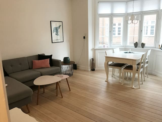Apartment near the Latin Quarter in central Aarhus