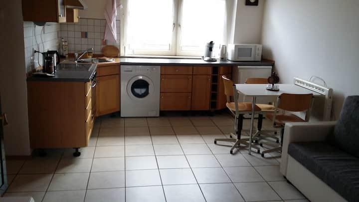 Kleine 2 Zimmerwohnung für max 3-4 Personen