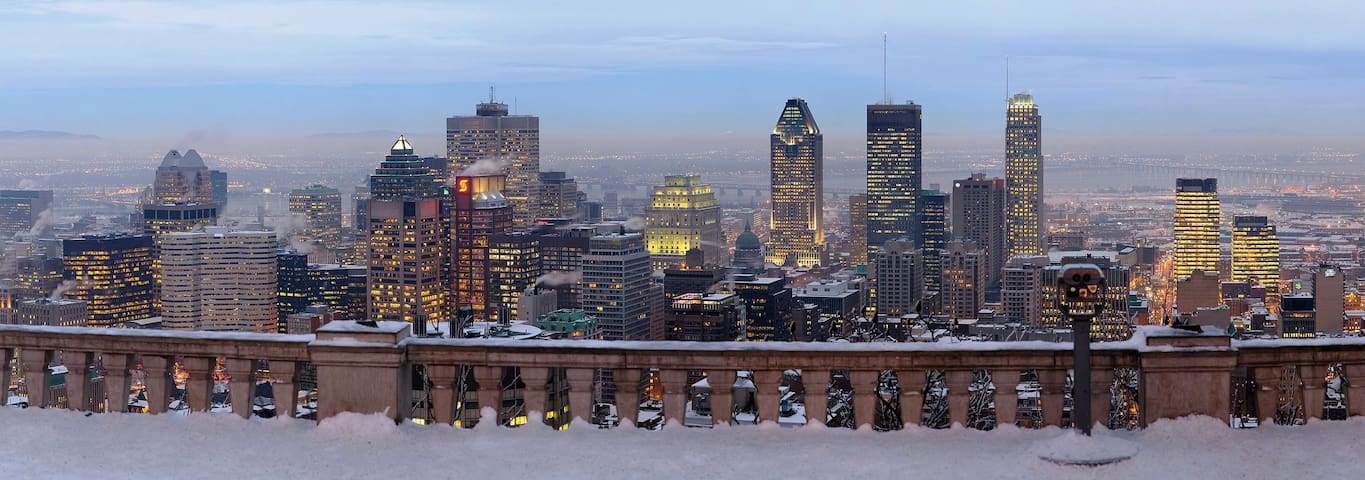 Bright Apt in the Heart of Montreal - Montréal - Huoneisto