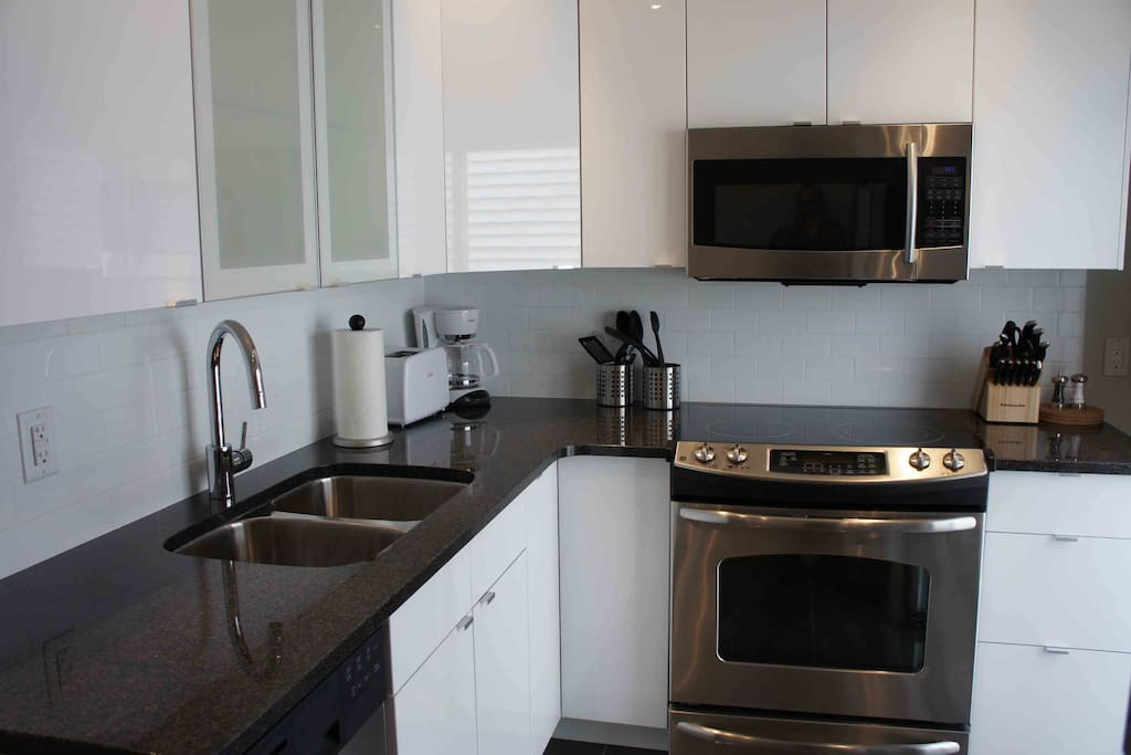 Dishwasher and Stainless Steel Appliances