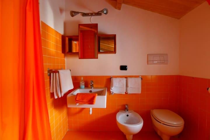 bagno autonomo con doccia