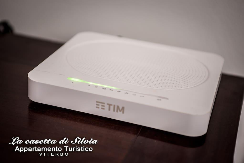 Internet Wi-Fi fibra 100mega gratuito