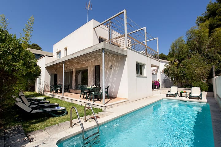 Best price! Modern quiet villa - Cala Sant Vicenç - House