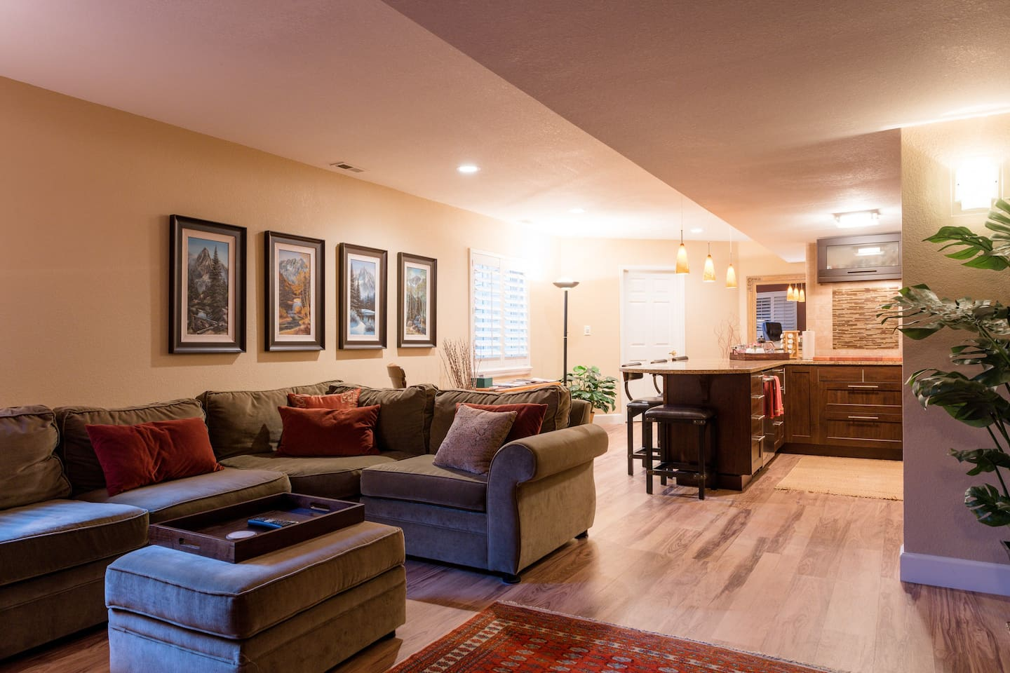 Over 1,000 square feet of spacious and comfortable living.