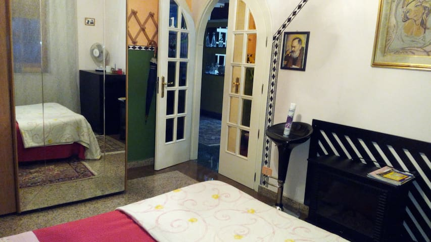 CAMERA CON CUCINA, BAGNO, Wi-Fi - Reggio Calabria - Pokój gościnny