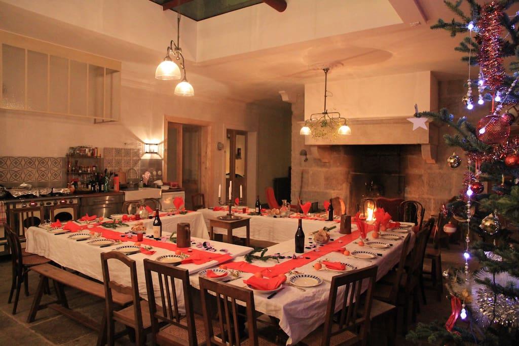 La cuisine centrale accueille les grands repas