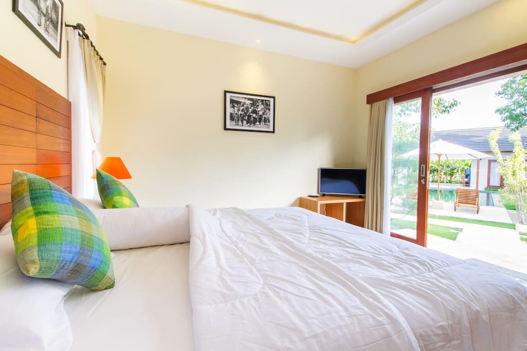 Your homey & comfy room.
