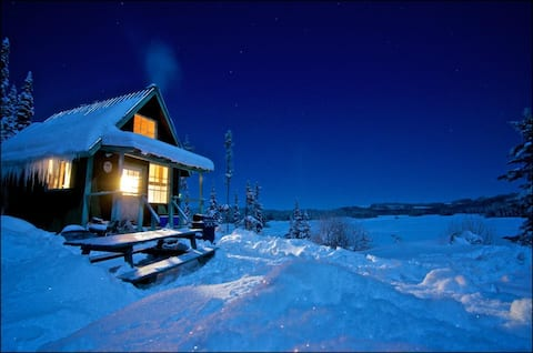 Cabin #9 - Honeymoon Cottage with a View