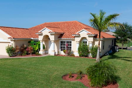 Luxury! Heated Pool & Gulf Access - Cape Coral