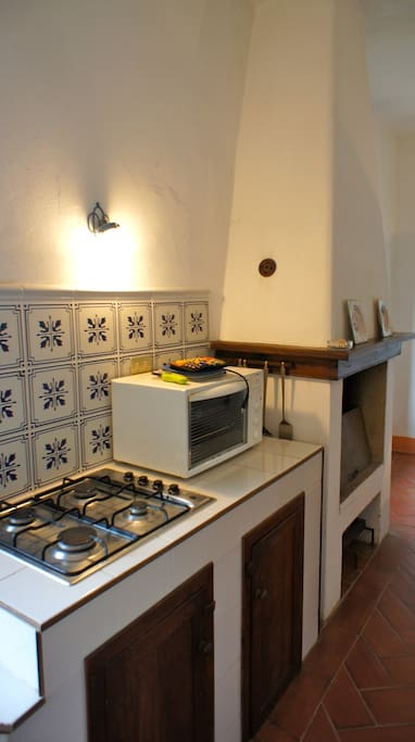 The big kitchen (Cucinone) - fully equiped