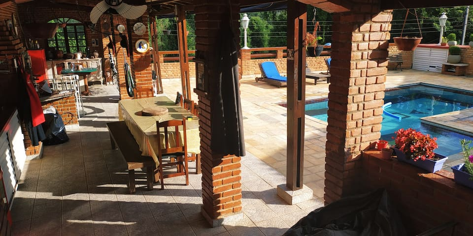 Hostel Querencia Novoa  Casa de Campo com Piscina.