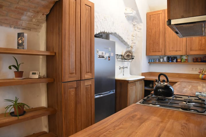 40 m2 Authentic Old Town & Užupis Apartment