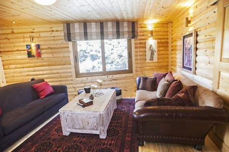Wood Chalet near Ski Center & Town - Kalávrita - Cabana