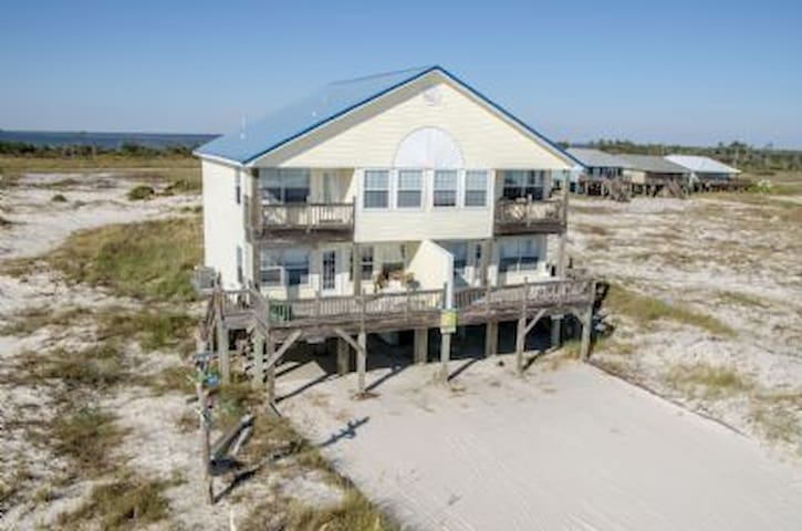 Colorful beach house on the Gulf - Gulf Shores