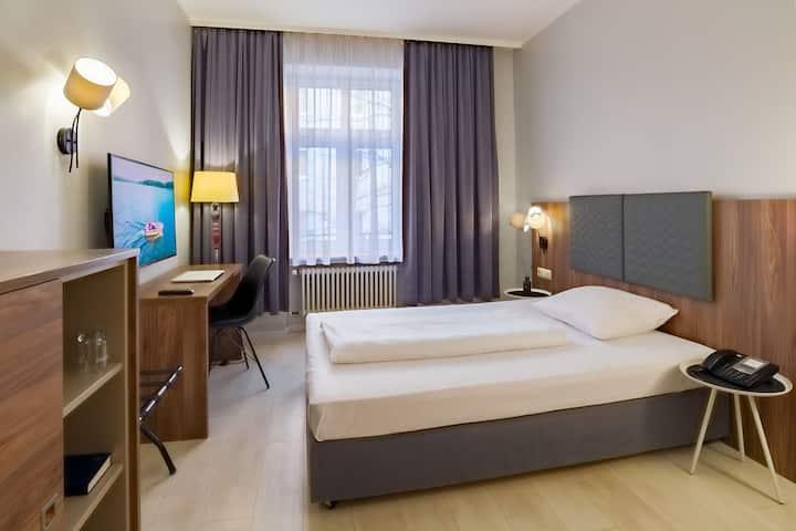 Komfortables Einzelzimmer in München-City