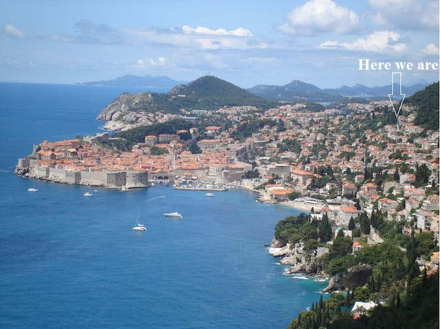 Apartment with balcony and seaview - Dubrovnik - Apartment