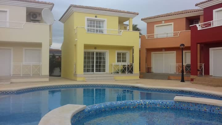 Two bed house Mosa Golf course