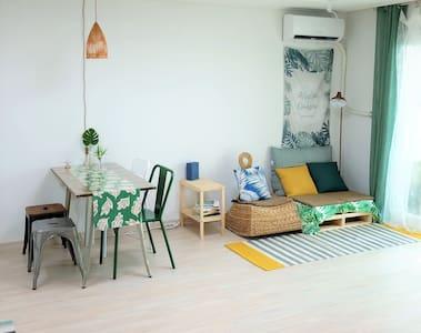 [NEW] 송정해변 도보 3분 #바다전망 #GREEN HOUSE [신축]