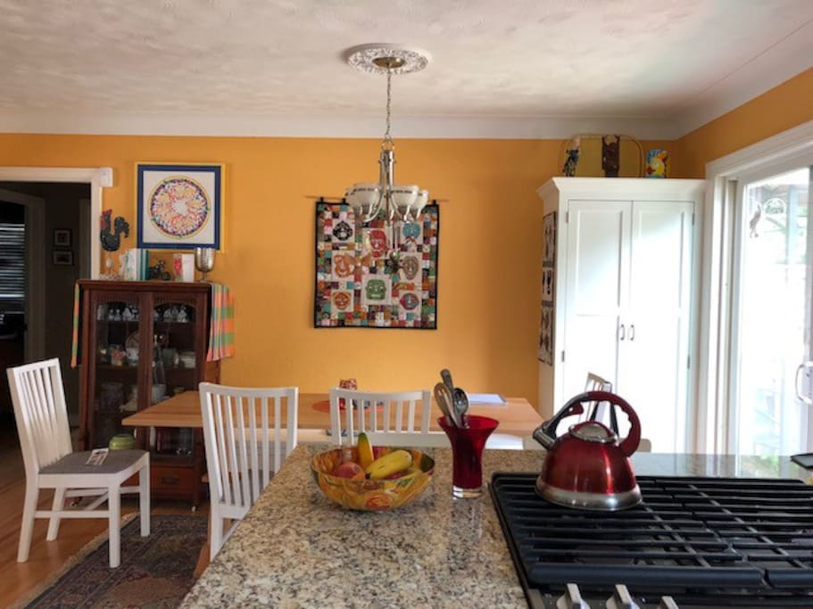 Newly remodeled dining room