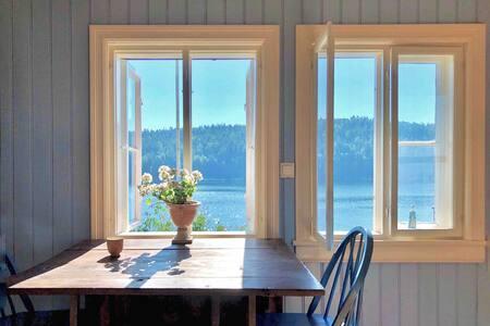 Nostalgisk sommerparadis - Hus ved Oslofjorden