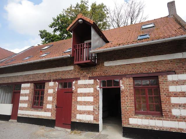 Loft 4 pers à la Ferme de Wolphus - Zouafques - Lägenhet