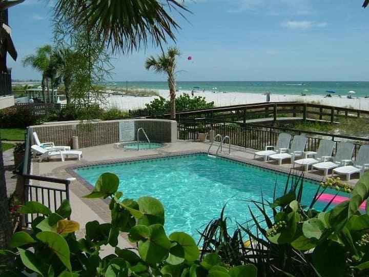 Gulf Strand Resort 508-1BR/2BA- Pool/Wifi/Parking