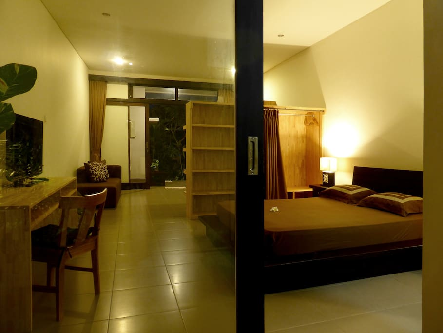 Perfect if you like to stay several weeks or month in Bali.