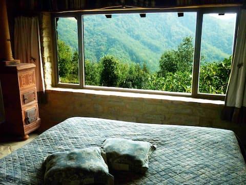 Romantisch huisje in de natuur