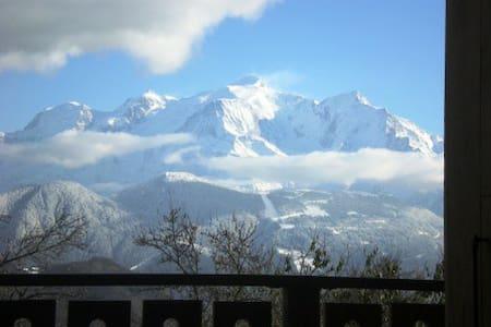 GITE face au Mont-Blanc - Sallanches