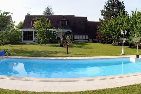 Relaxing house & pool, Loire Valley - Chambon-sur-Cisse