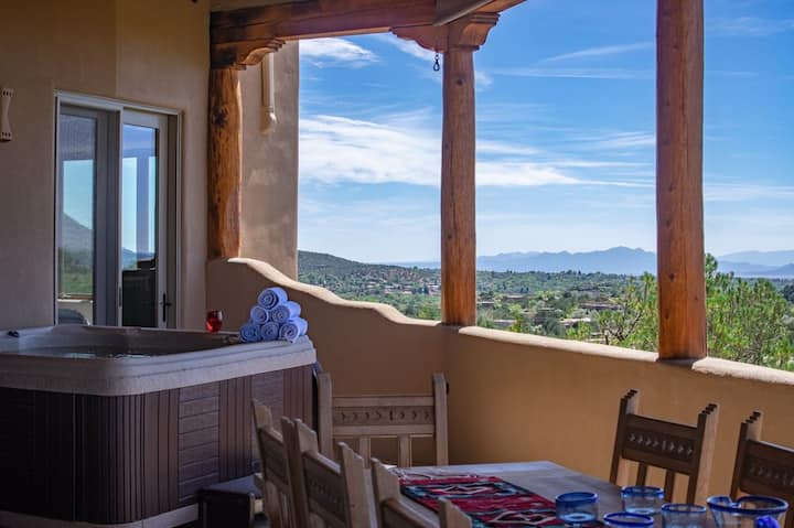 20% off Ski Santa Fe! Hot Tub! Views Views Views!