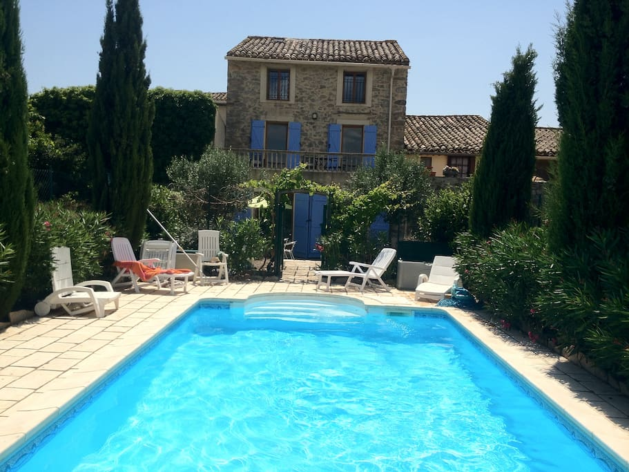 The ivy house oupia houses for rent in oupia languedoc for The ivy house