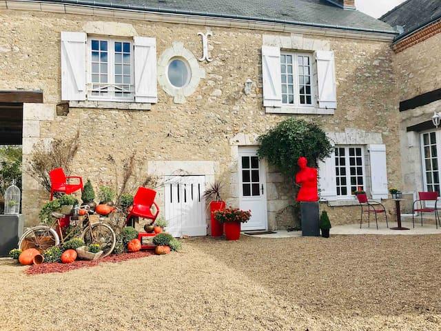 Taty Ginette châteaux de la Loire
