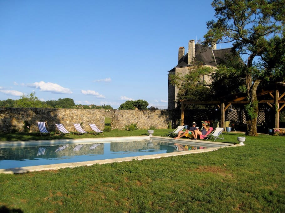 Luxurious Medieval Castle with Pool