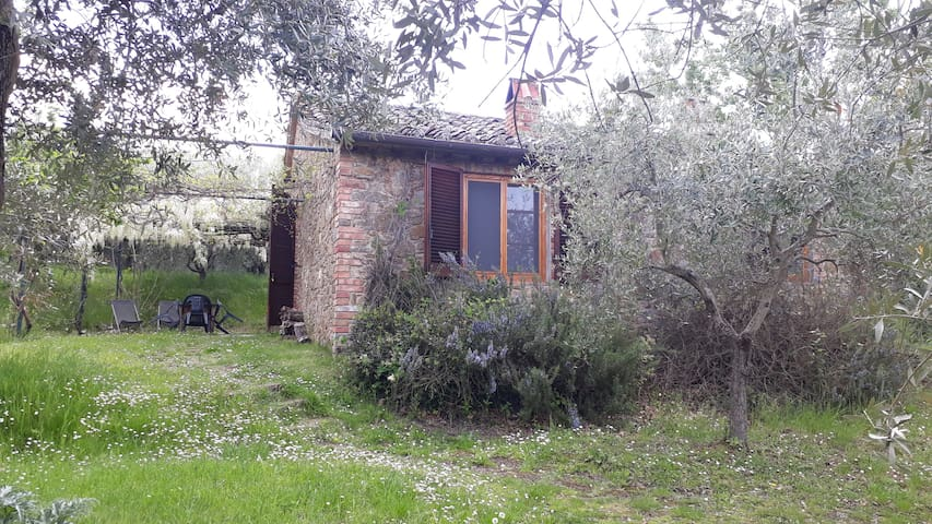 Stone cottage in beautiful Umbrian countryside