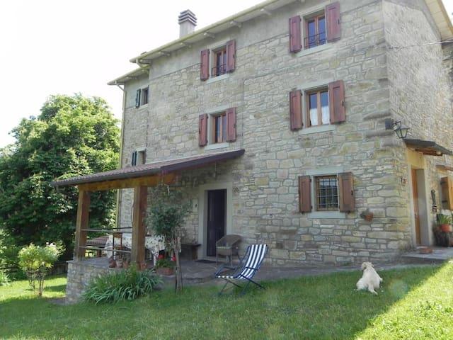Rustico con giardino panoramico - Monghidoro - Haus