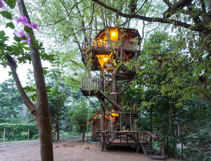 Tamarind cottage treehouse