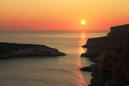 Lampedusa -Villetta per due persone - 蓝佩杜萨岛(Lampedusa) - 别墅