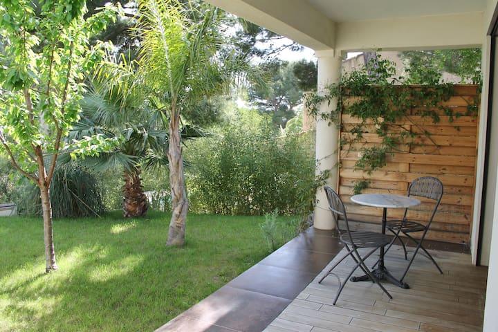 Suite parentale : terrasse privée
