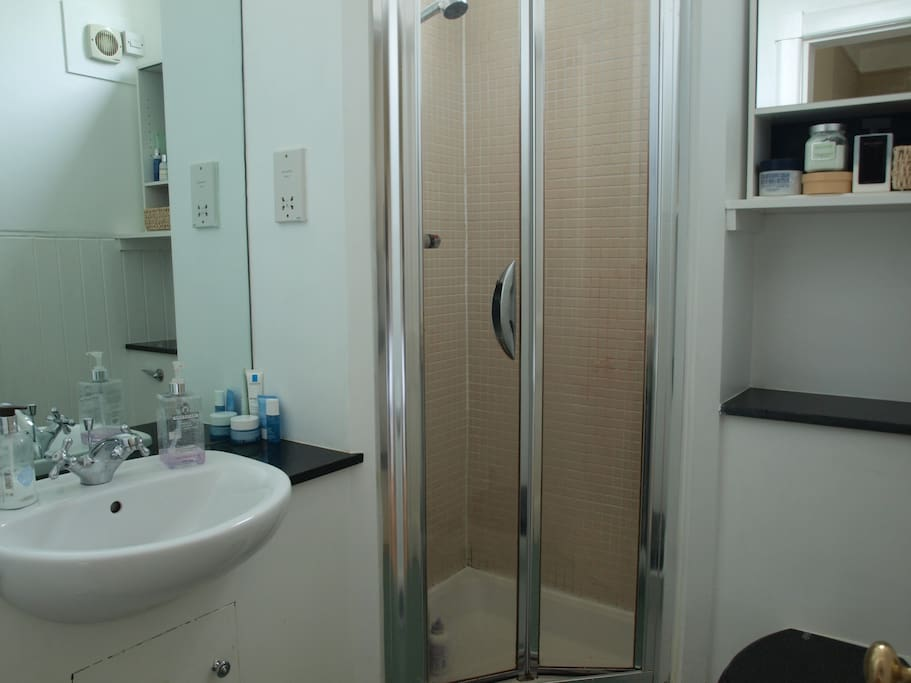 En-suite shower-room with shower, hand-basin & W.C.