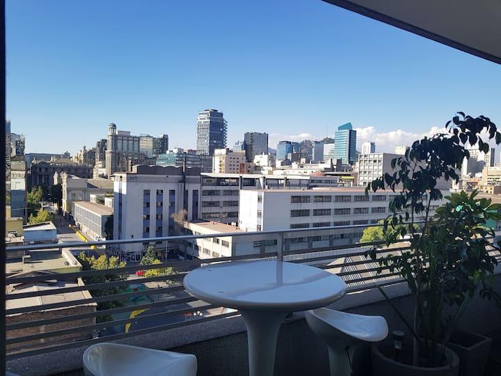 Habitación con excelente ubicación en Santiago
