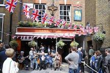 Lamb & Flag pub Covent Garden