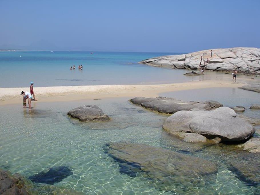 Spiaggia di Peppino (costa Rei)