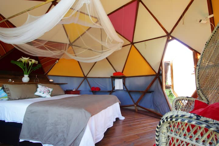 #06 Geodesic Dome & Cosy Space In Nature