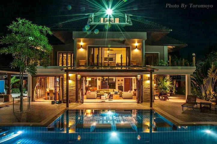 Beach Front Holiday House - Cha Am Phetchaburi - Dům